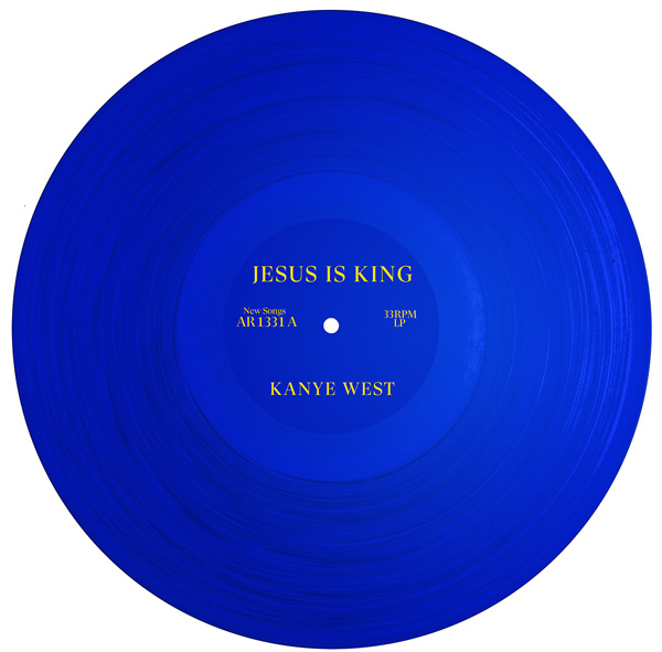 Kanye Jesus is King Artwork