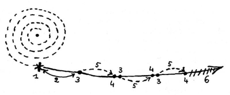 Lines of Flgiht Marinara Desert Schtick