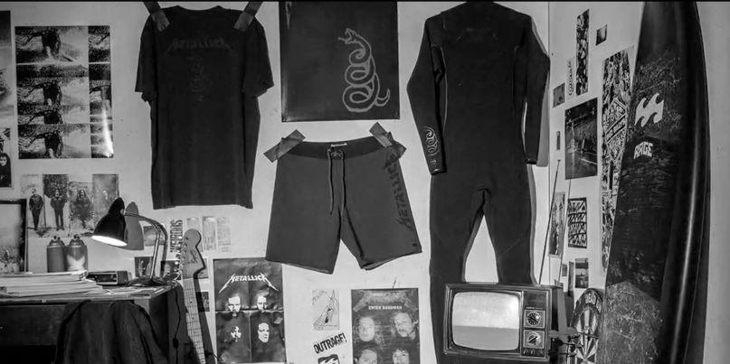 Metallica Billabong surfwear collection