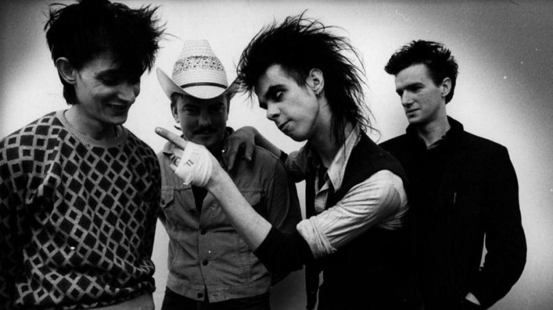 Nick Cave with The Birthday Party