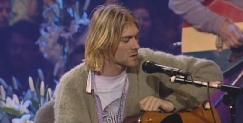 Kurt Cobain's unwashed MTV Unplugged sweater to be auctioned off
