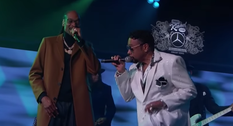 "Morris Day and Snoop Dogg bring a ""Lil Mo Funk"" to Kimmel: Watch"