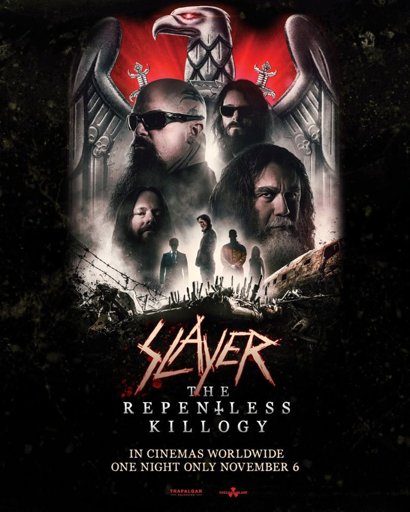 Slayer - The Repentless Killogy Poster