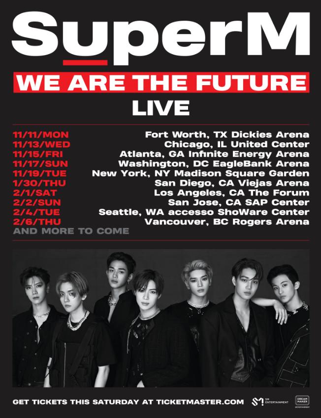 K Pop Supergroup Superm Announces North American Arena Tour