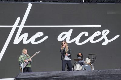 The Aces at Austin City Limits 2019, photo by Amy Price