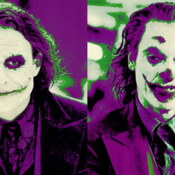 Heath Ledger vs. Joaquin Phoenix as Joker