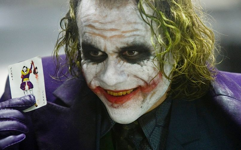 Heath Ledger in The Dark Knight (Warner Bros.)