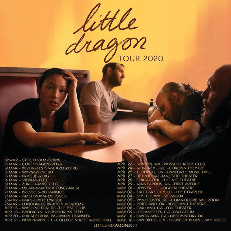 little dragon tour dates tickets 2020 Little Dragon return with new single Tongue Kissing, plus 2020 tour dates: Stream