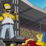 simpsons live aid queen mercury