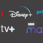 Netflix, Disney, Apple TV, HBO, Amazon Prime