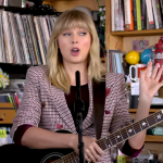 taylor swift tiny desk concert video performance
