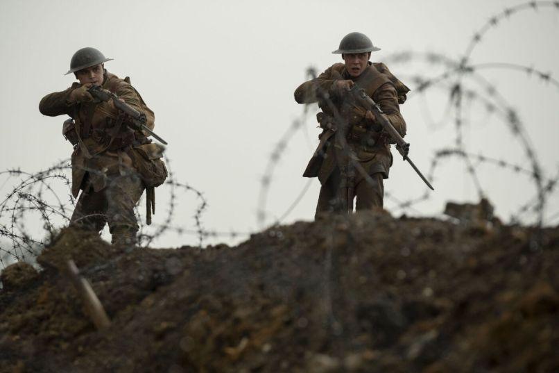 1917, Sam Mendes, World War I, George MacKay, Sam Mendes, War, George MacKay, Dean-Charles Chapman