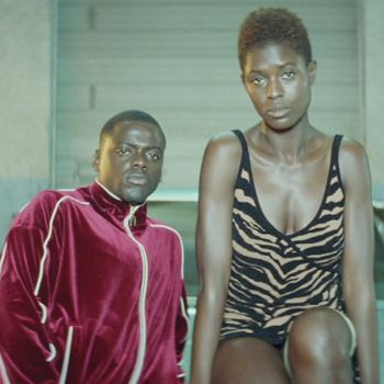 Jodie Turner-Smith and Daniel Kaluuya in Queen & Slim