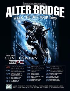 Alter Bridge Tour Poster