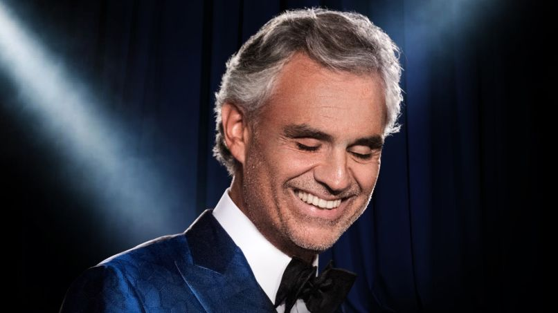 Andrea Bocelli, photo by Giovanni De Sandre