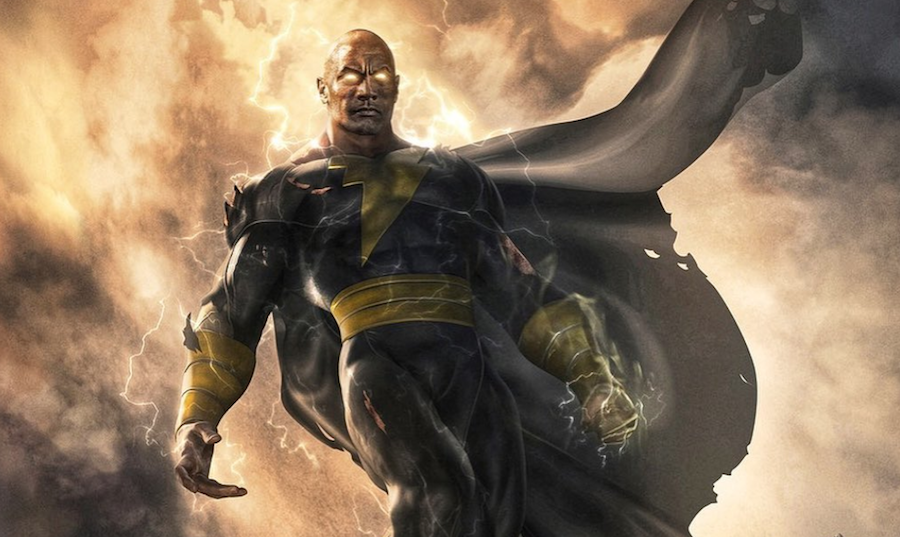 Dwayne Johnson reveals Black Adam release date, first look at concept art - Consequence of Sound
