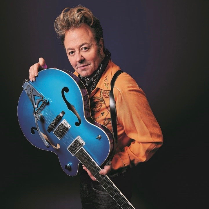 Brian Setzer, photo by Tony Nelson