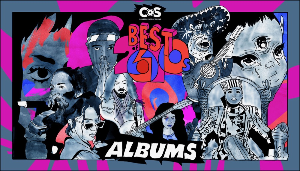 The 100 Top Albums Of The 2010s Consequence Of Sound