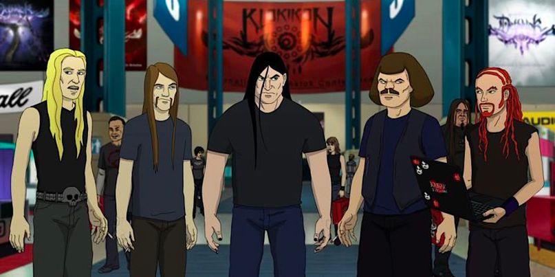 Dethklok first show in 5 years