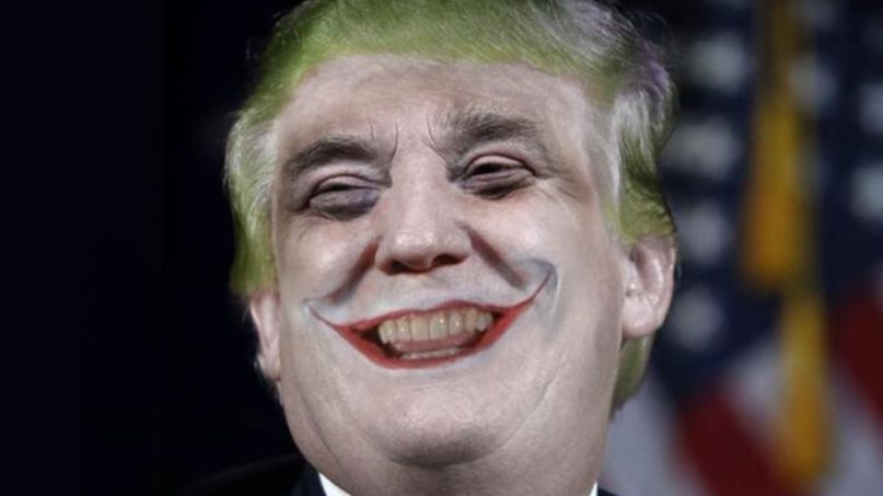 Donald Trump as Joker