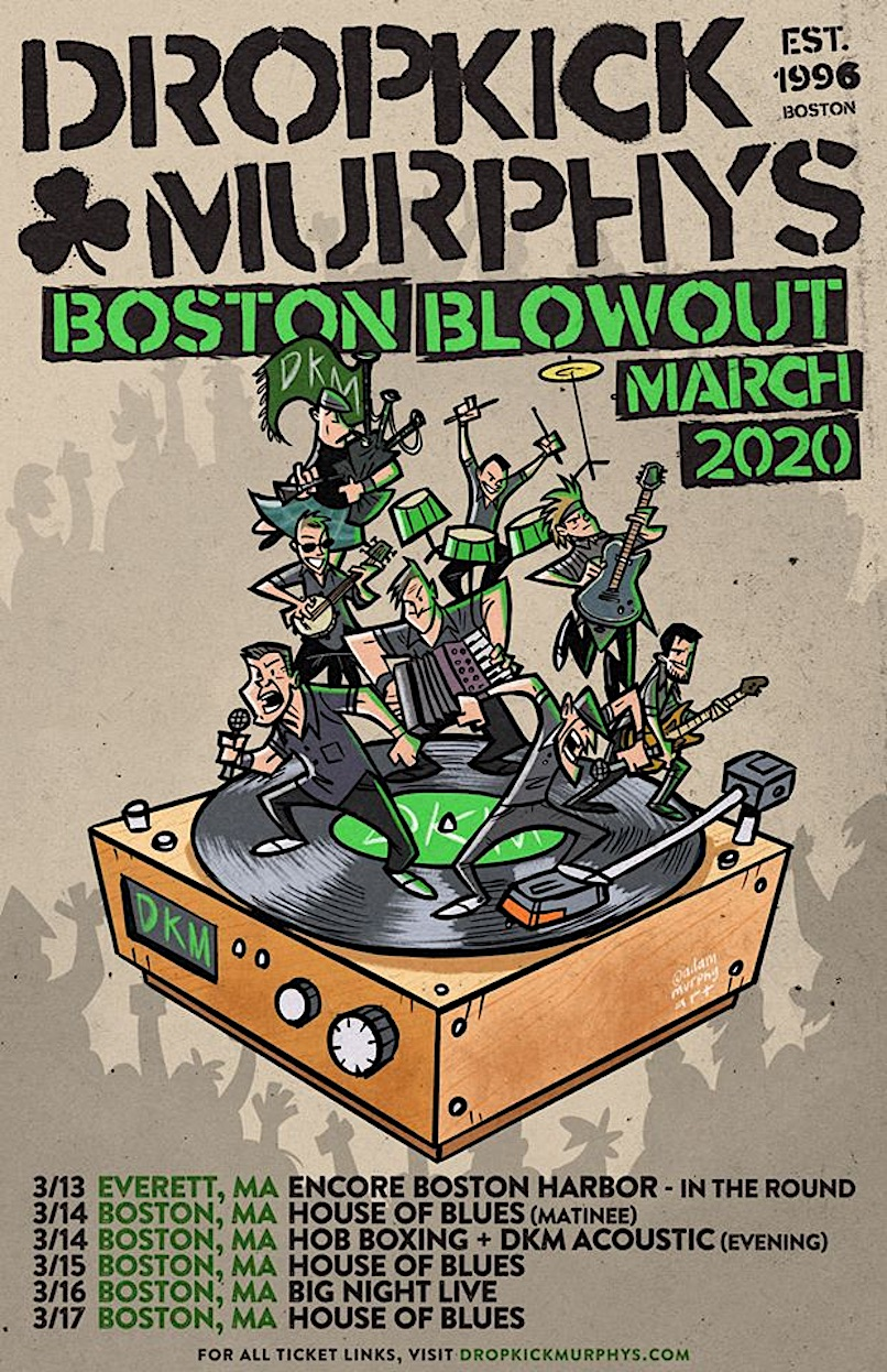 Dropkick Murphys Boston Blowout poster
