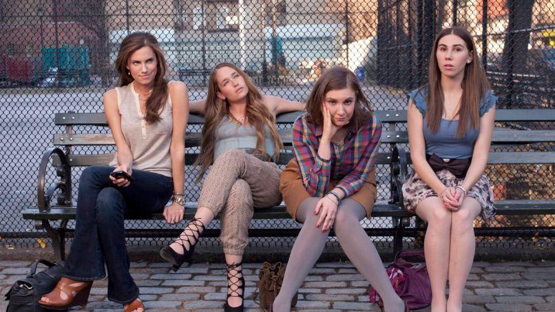 Girls, Lena Dunham, Allison Williams, Cast Photo