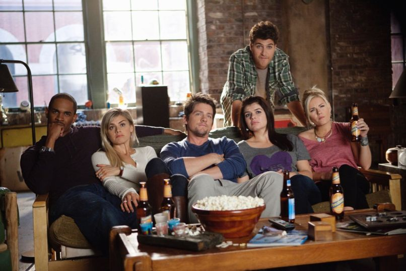 Elisha Cuthbert, Happy Endings, ABC, Cast Photo