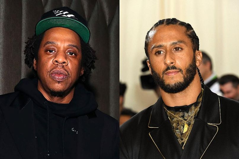 JAY-Z and Colin Kaepernick