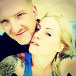 Josh Homme and Brody Dalle