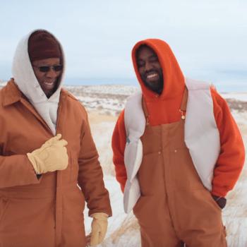 "Kanye West's video for ""Follow God"""