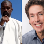 Kanye West Joel Osteen church sunday service
