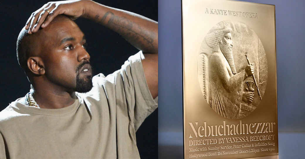 Kanye West put the wrong emperor on his Nebuchadnezzar opera invite - Consequence of Sound