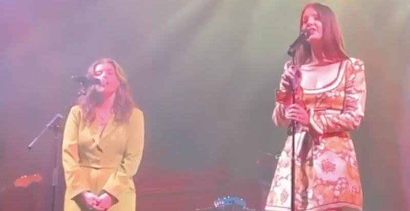 Lana Del Rey brings out Best Coast and Lucy Dacus in Chicago: Watch