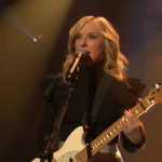 "Liz Phair on Late Night with Seth Meyers ""Good Side"" memoir interview performance"