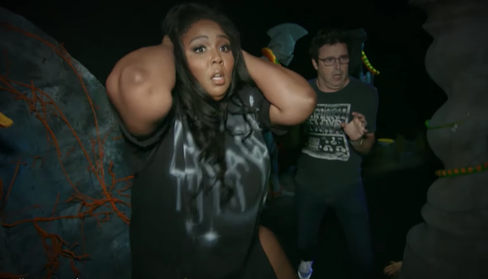 Lizzo going through a haunted house is the perfect farewell to the Halloween season: Watch