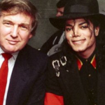 Michael Jackson with Donald Trump