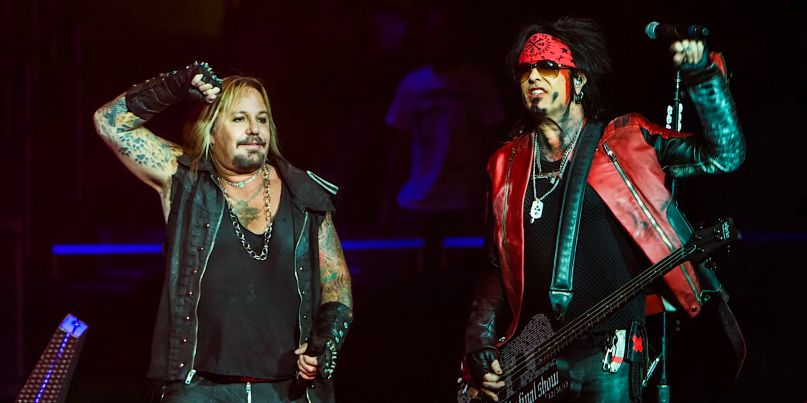 Motley Crue reunion tour report