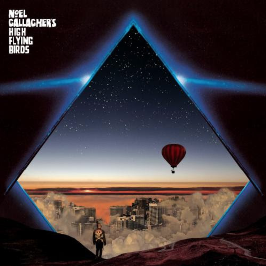 Noel Gallagher's High Flying Birds Blue Moon Rising EP Artwork