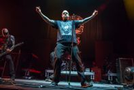 Philip Anselmo & The Illegals at Madison Square Garden, photo by Johnny Perilla