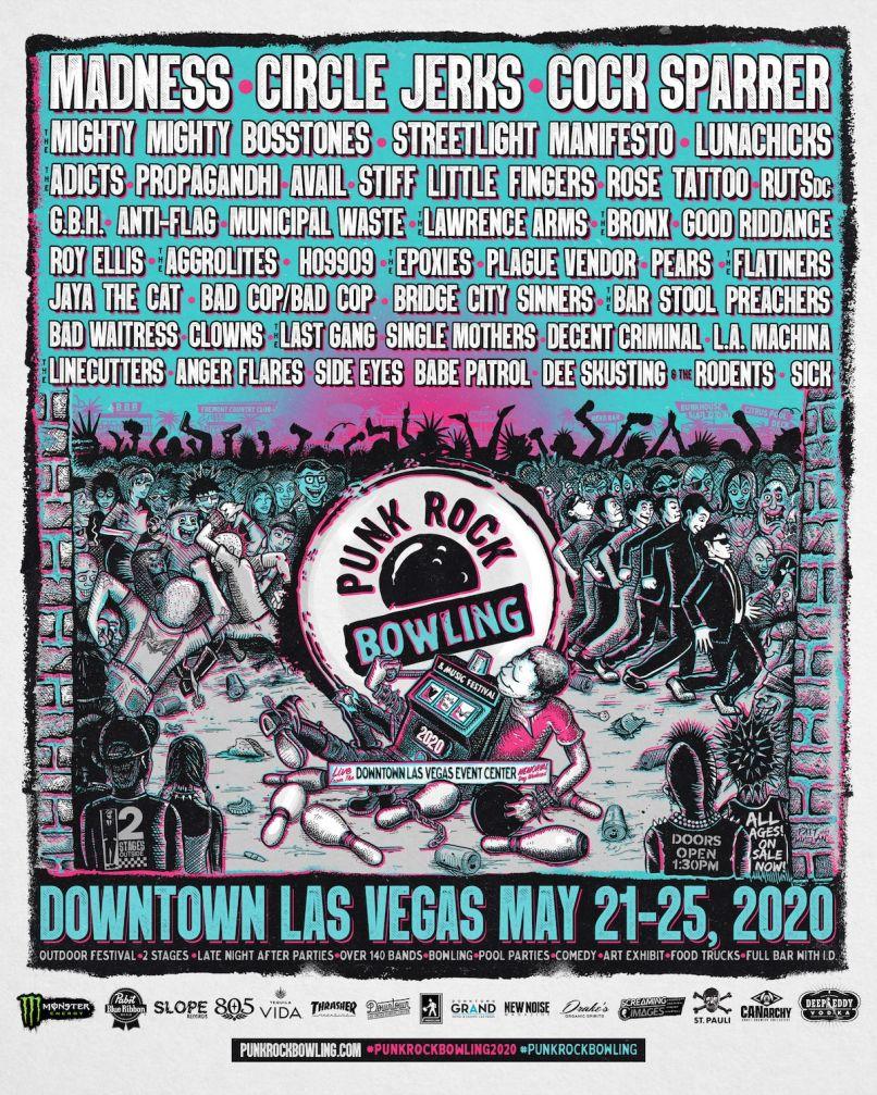 Punk Rock Bowling 2020 Poster