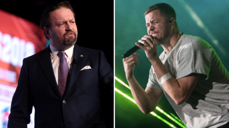 Sebastian Gorka Imagine Dragons youtube ban music