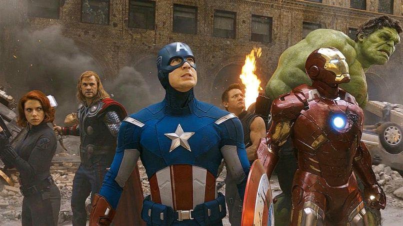 The Avengers, Chris Evans, Scarlett Johansson, Mark Ruffalo, Marvel, Chris Hemsworth, Comic Book Movie