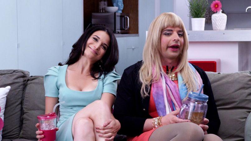 Jenny Slate, Nick Kroll, Comedy Central, The Kroll Show
