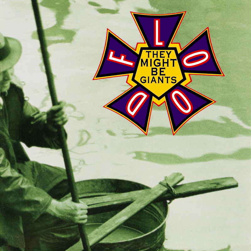 They Might Be Giants' artwork for Flood