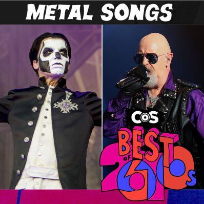 Top Metal Songs 2010s
