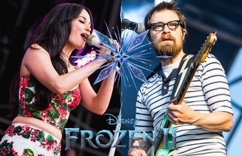Weezer Kacey Musgraves Panic at the Disco forzen 2 II soundtrack disney