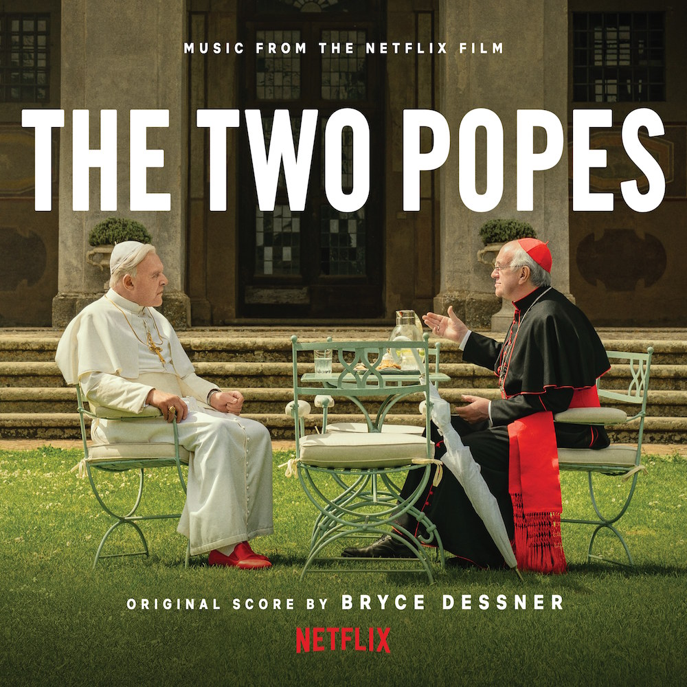 dessner two popes soundtrack score The Nationals Bryce Dessner details The Two Popes soundtrack, shares Walls 2: Stream