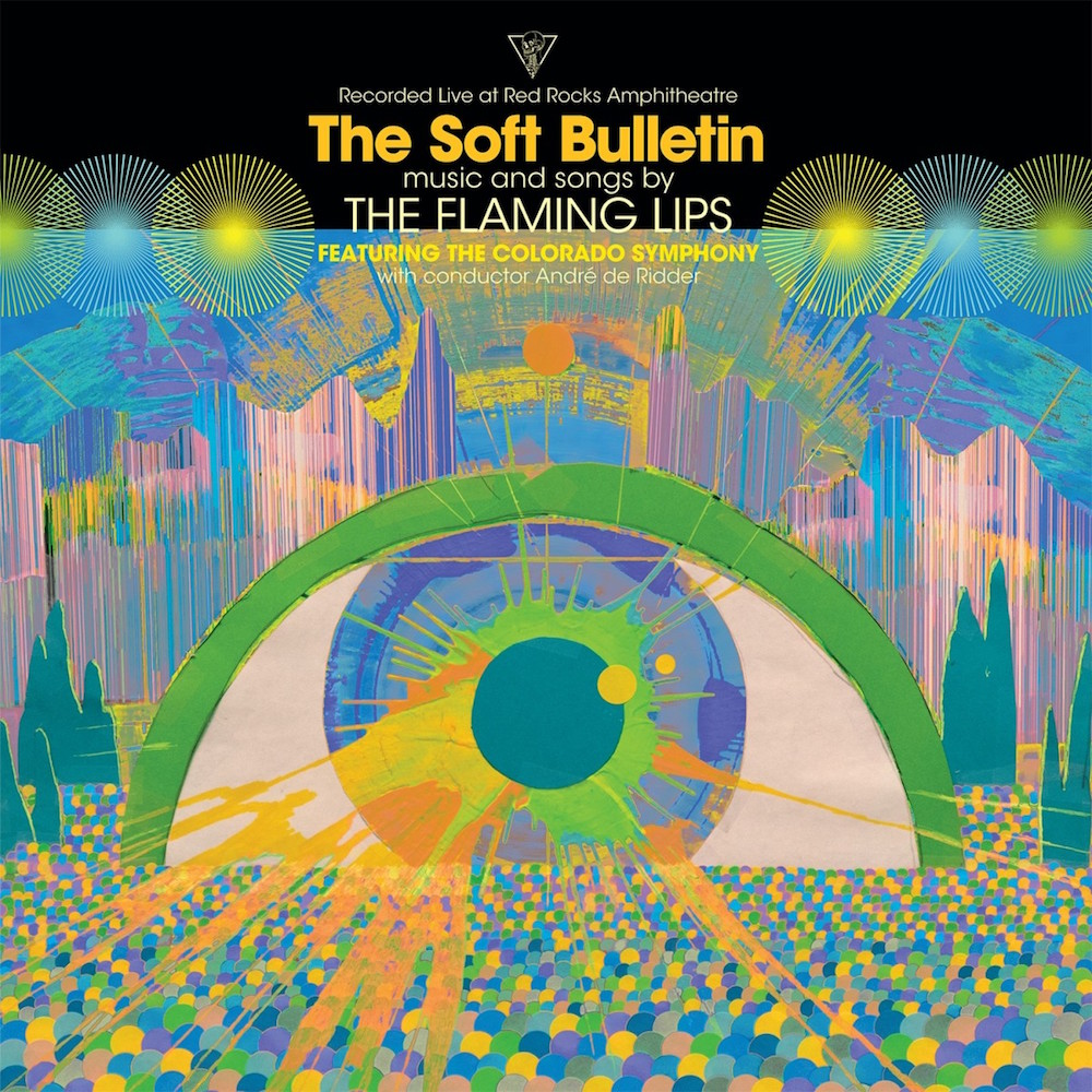 flaming lips soft bulletin live album cover artwork The Flaming Lips reveal new Soft Bulletin live album recorded at Red Rocks: Stream