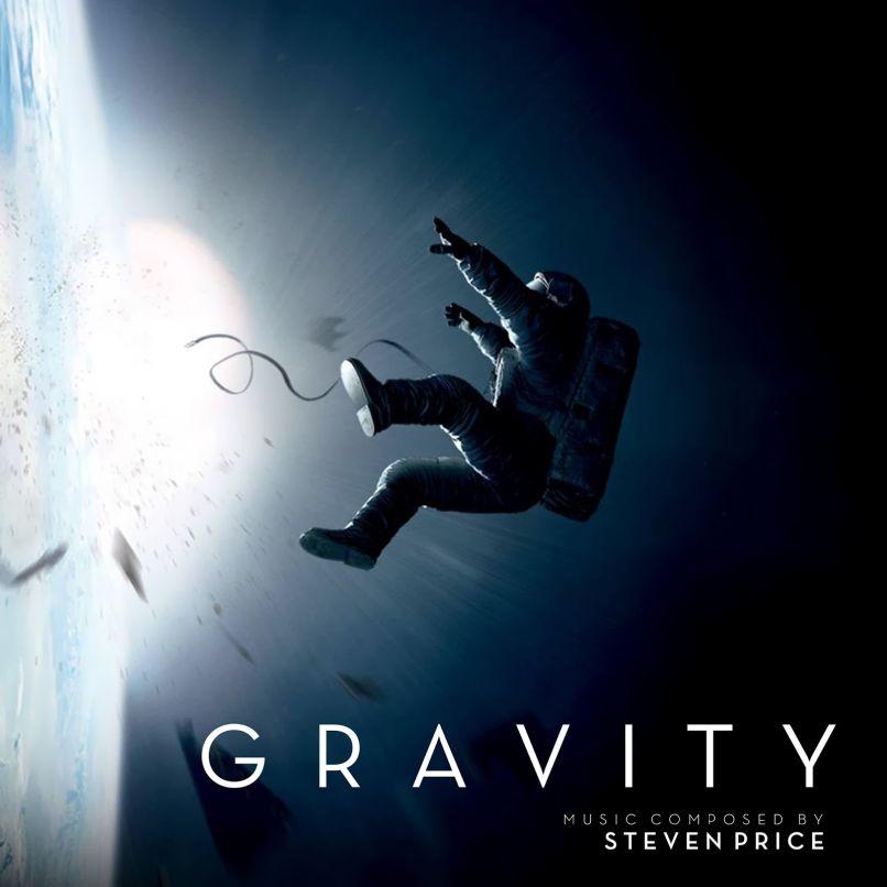 Gravity Original Motion Picture Score, Album Cover, Steven Price