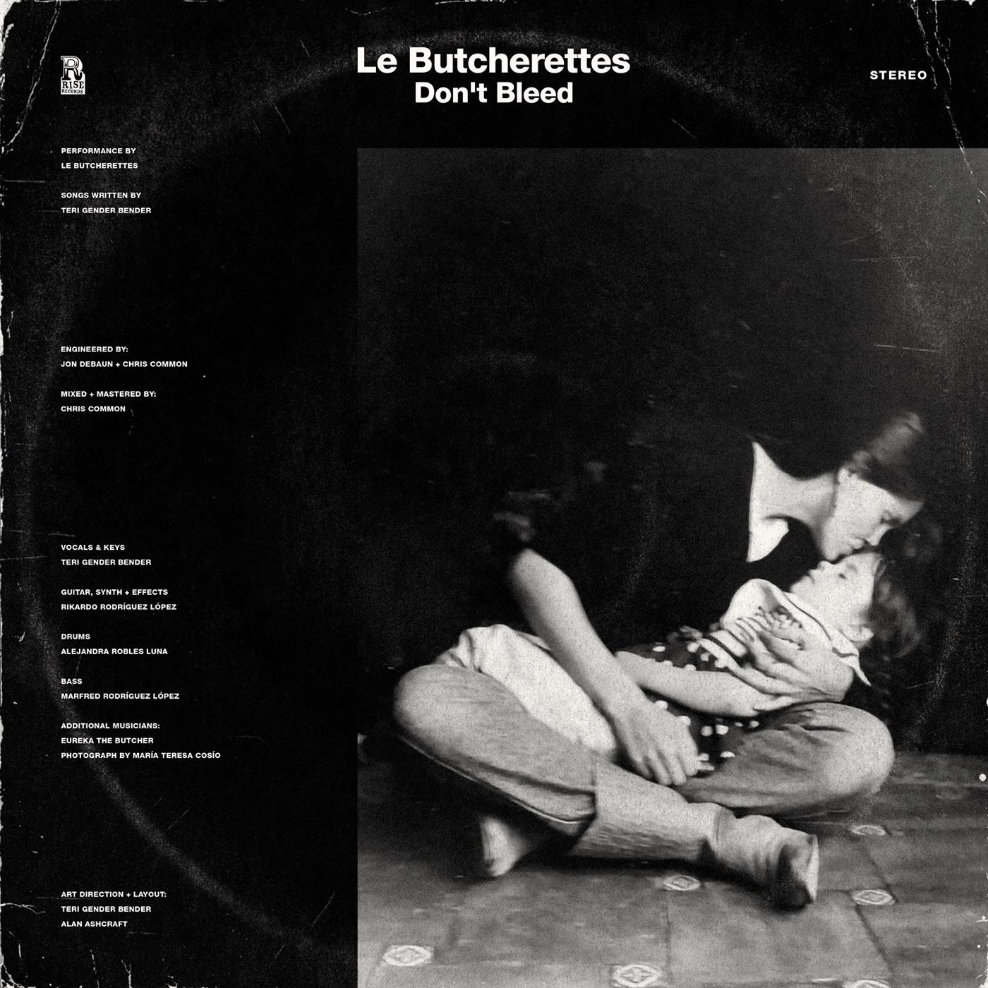 le butcherettes tunisia don't bleed ep album cover artwork
